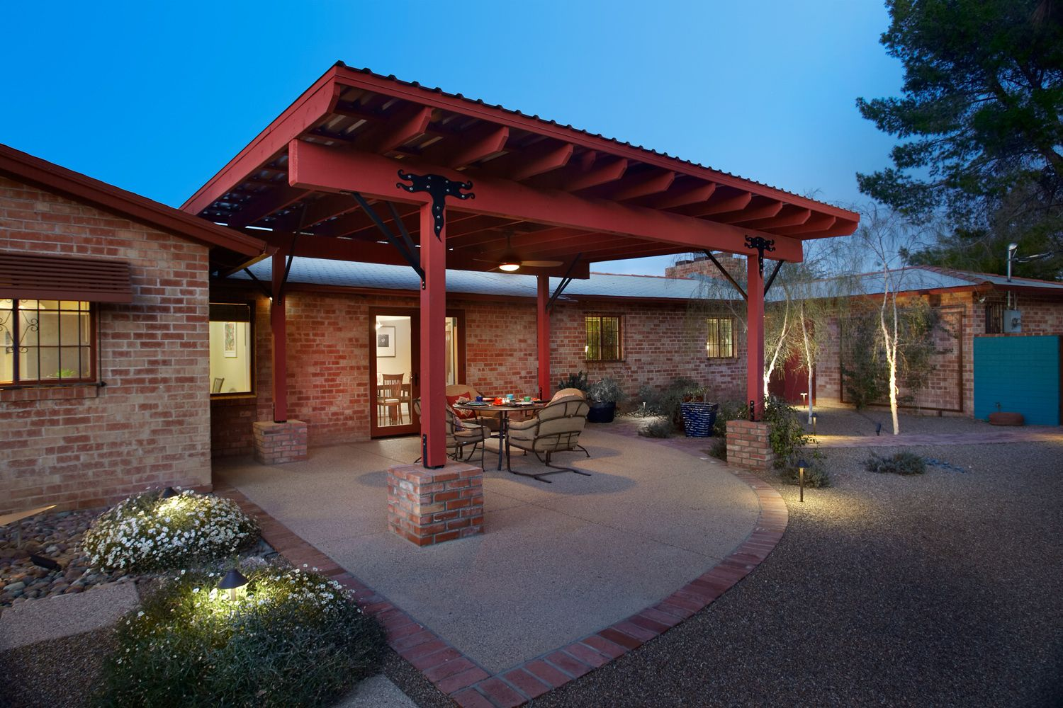 Ramada design plans ramada backyard remodel for Pool design tucson