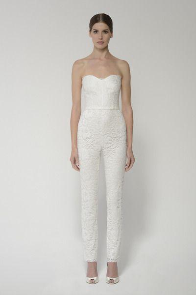 e3c100654cf Shop this ready-to-wed jumpsuit and more at moniquelhuillier.com   moniquelhuillier  bridal