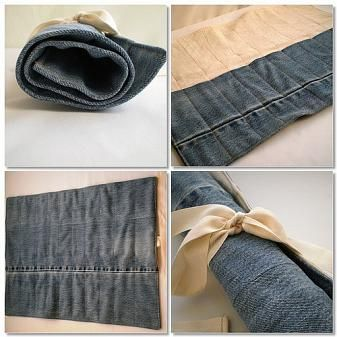 Until Wednesday Calls: How To : Denim Tool Roll