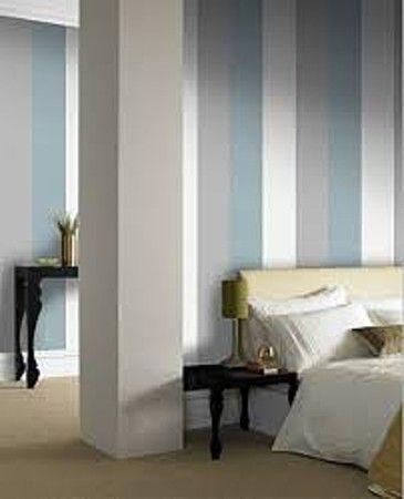 Duck Egg Colour Scheme Google Search Salon Wallpaper Striped