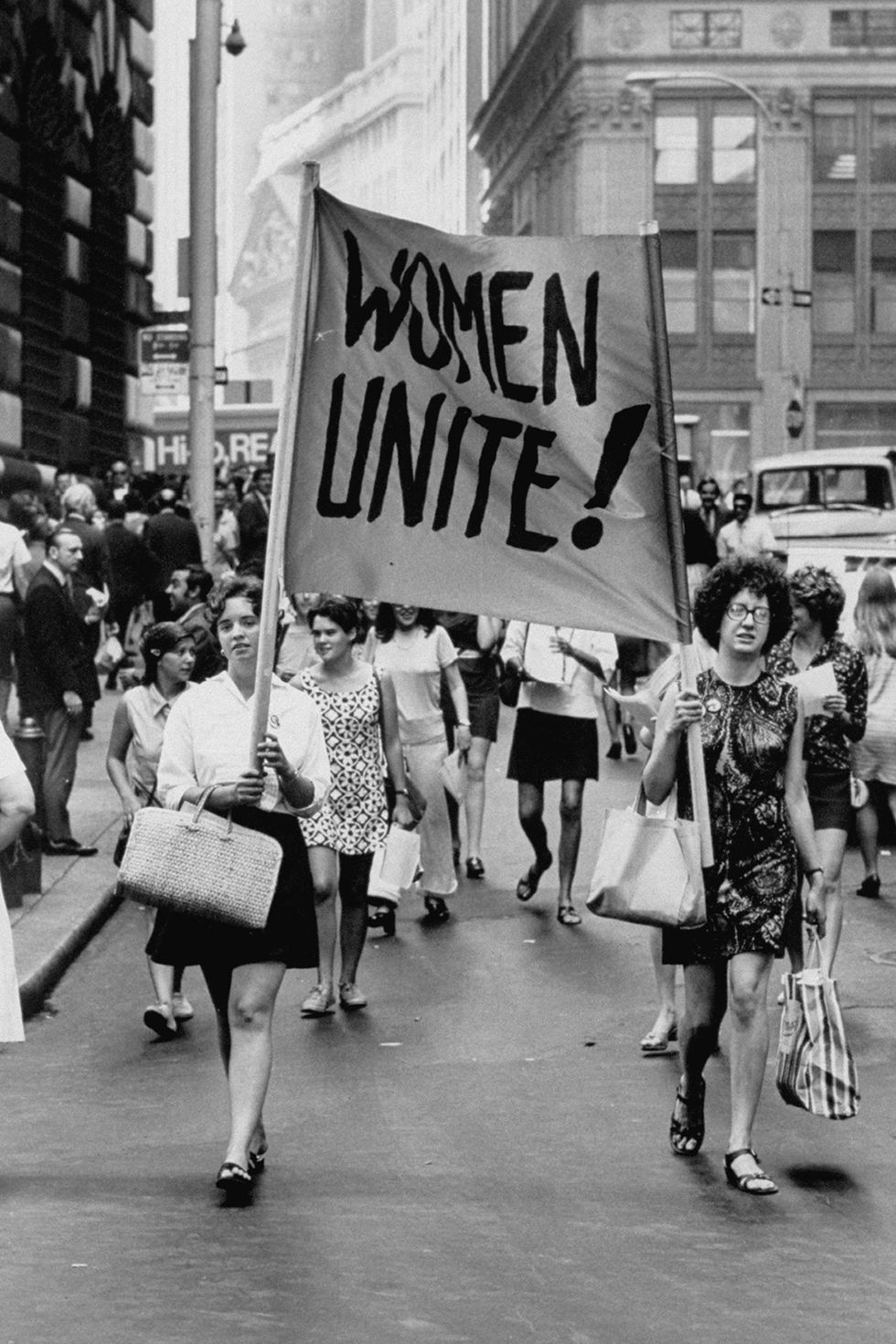 What New York City Looked Like The Year You Were Born Feminism Women Unite Feminist Art