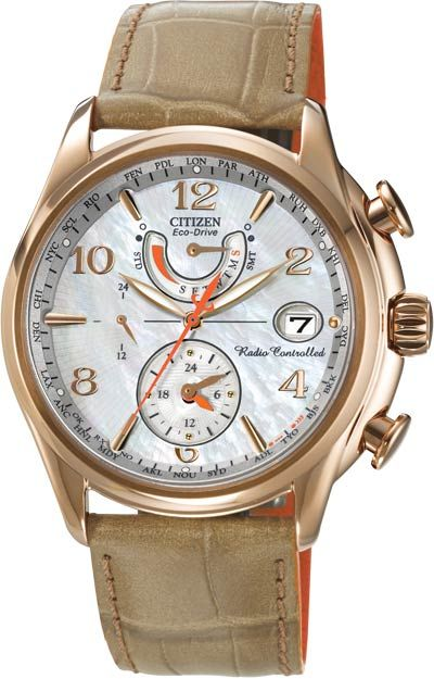 Picture of FC0003-18D Zulu dual time zone ladies watch rose gold ecd1856df7