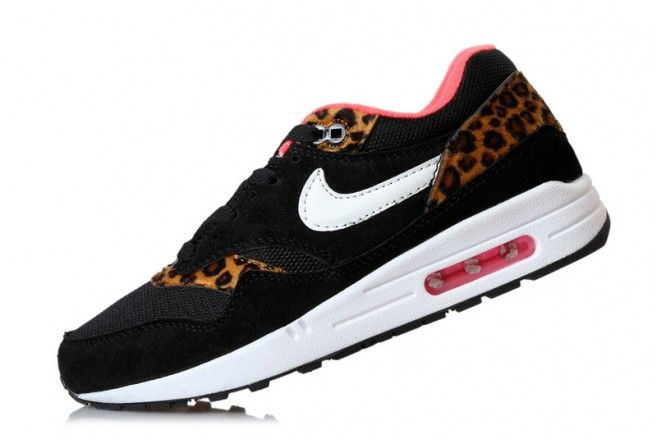 eaa1b7eb5a9c Nike Air Max 87 Lunar Black Leopard Sneaker 651A | Shoes! | Nike air ...