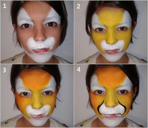 C mo pintar caras con maquillaje art stico para ni os - Pinturas de cara para ninos ...