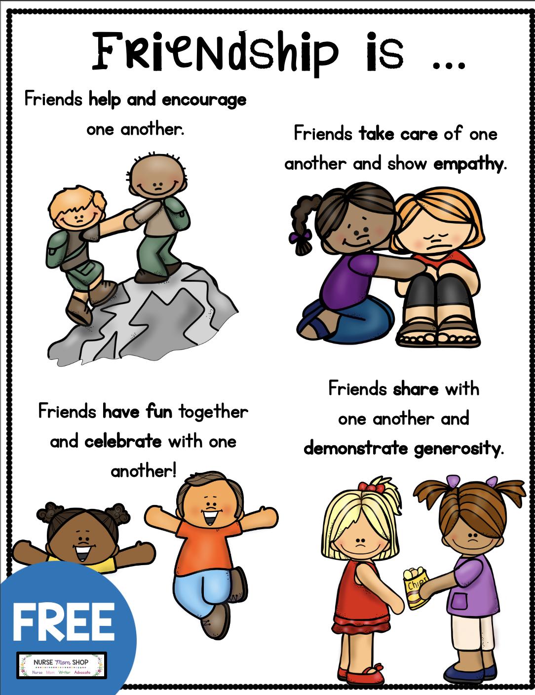 Free Friendship Tools Printables