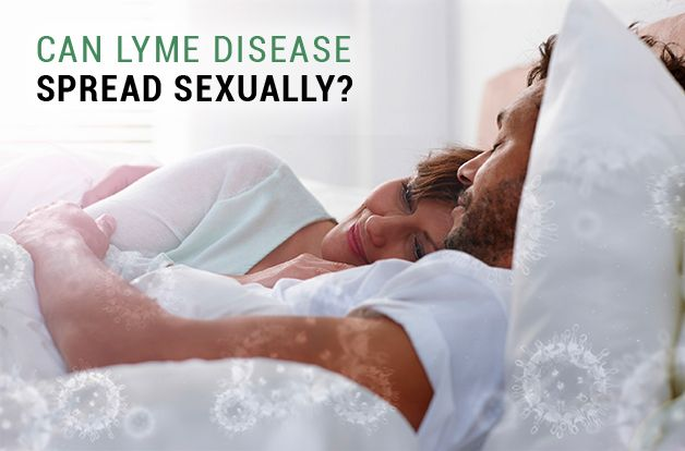 Can lyme disease be sexually transmitted pics 16