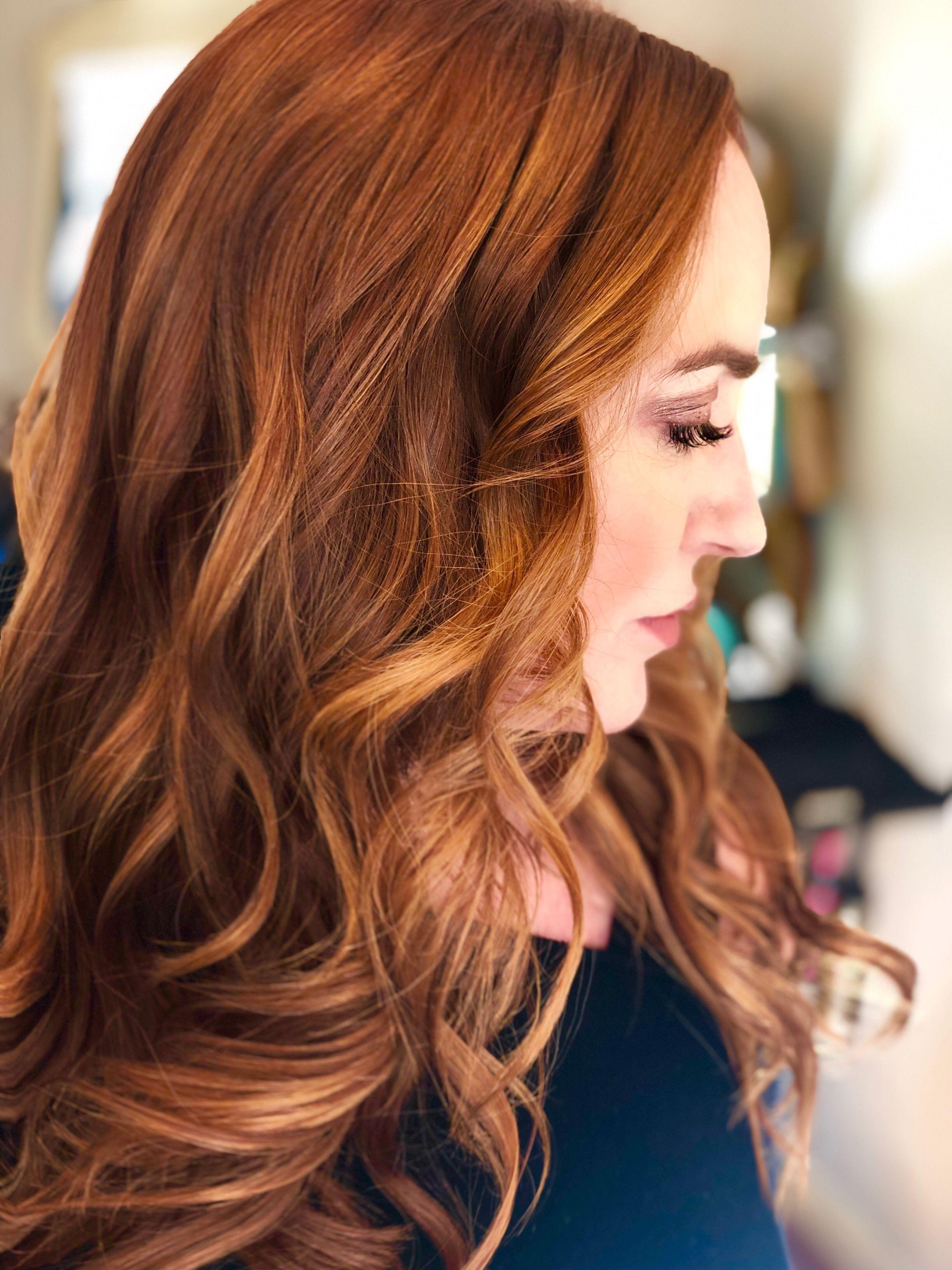 Gorgeous Redhead Pretty Hairstyles Copper Hair Color Hair Salon
