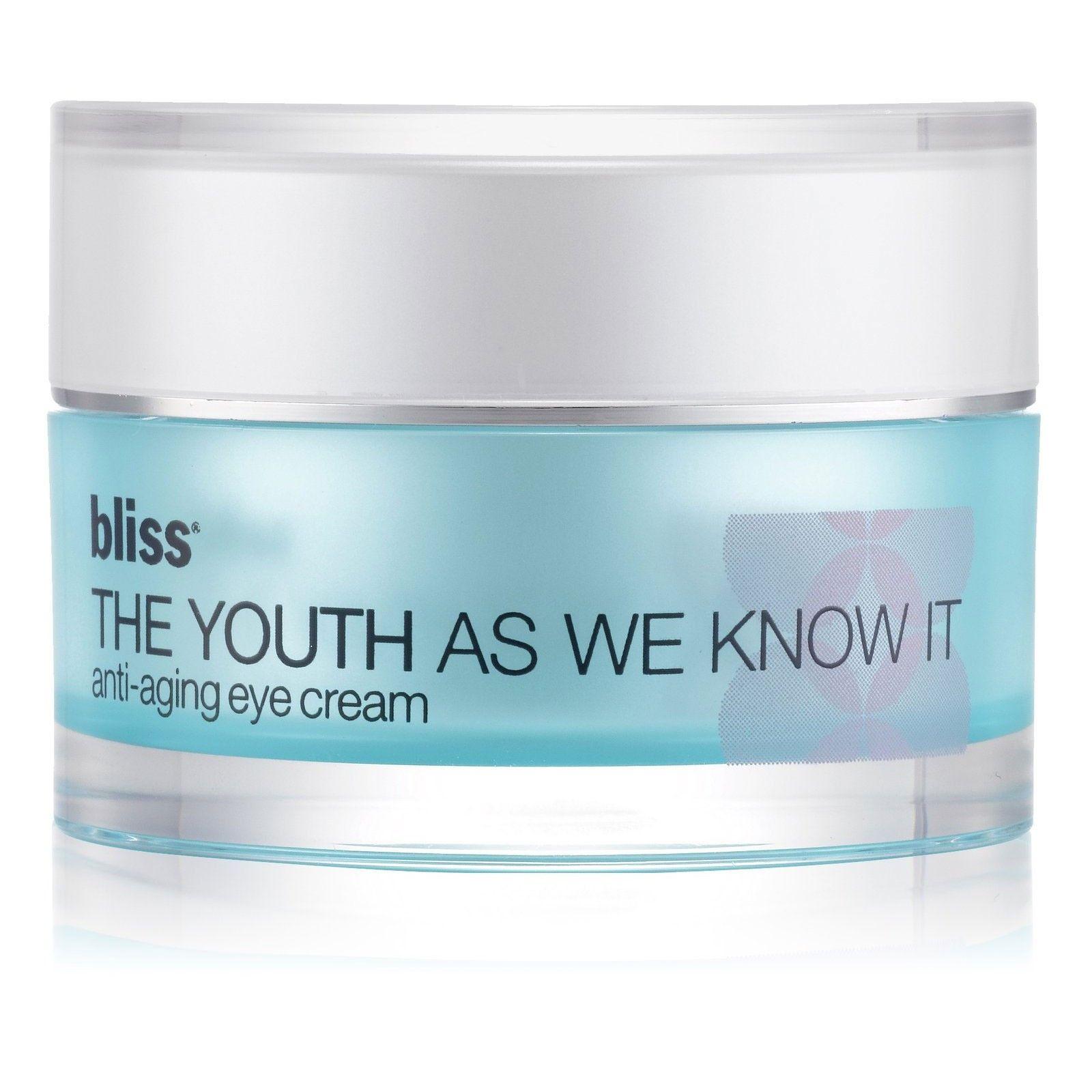 Wwwrickysnyccom Bliss The Youth As We Know It AntiAging Eye Cream