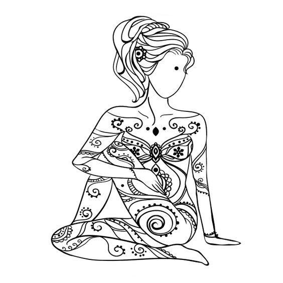 Yoga Tete De Vache Yoga Dibujos Dibujos Divertidos Ninos Del Yoga