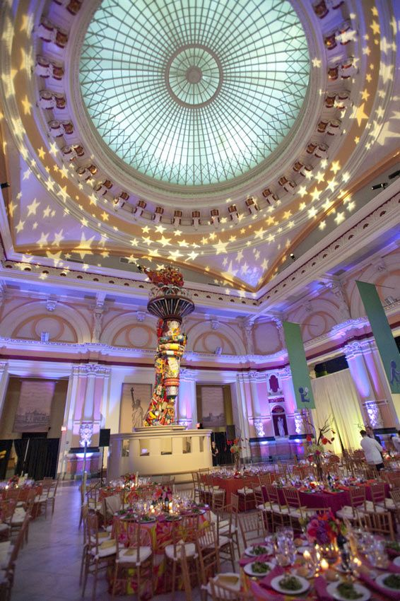 High Ceiling Venue Which Creates A Larger Room Effect Venues