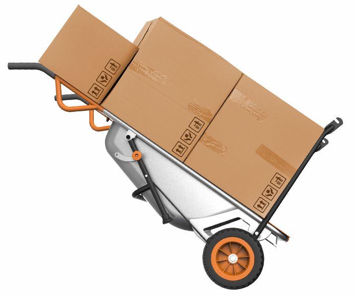 WORX Aerocart WG050 8-in-1 All Purpose Lifter//Carrier and Wheelbarrow