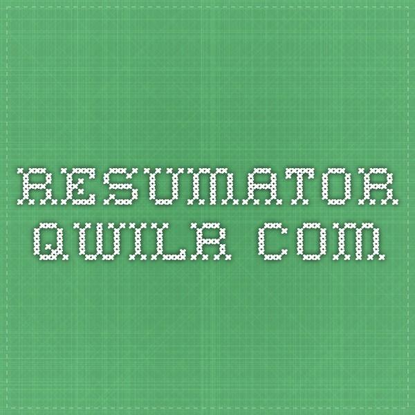 The Resumator Resumatorqwilr Resume Creator  Product Resources  Pinterest