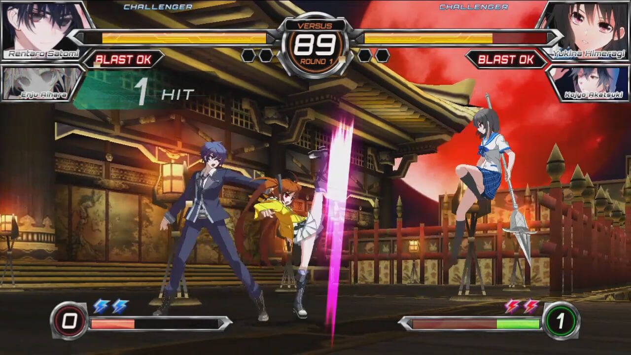 Review Dengeki Bunko Fighting Climax Psp Simple Combat