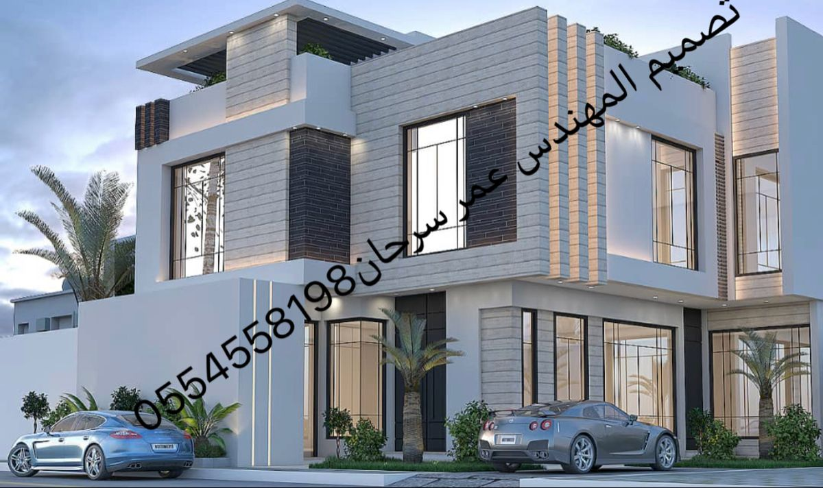Pin By Star Al Shaqsi On Modern House Design Modern Style House Plans Door Design Modern Modern House Design