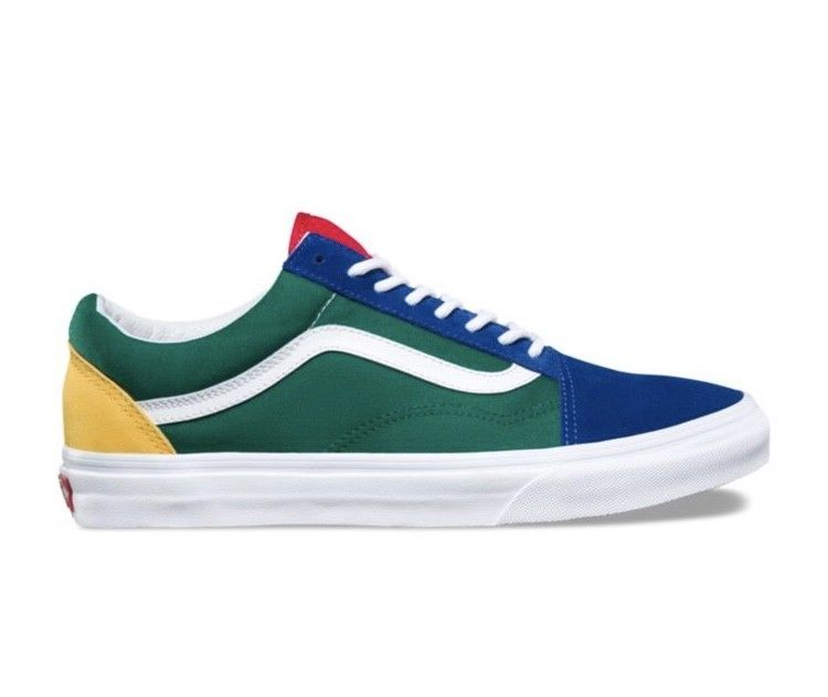 Details about Vans Old Skool Yacht Club Yellow Blue Green