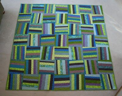 off kilter quilt, love the design