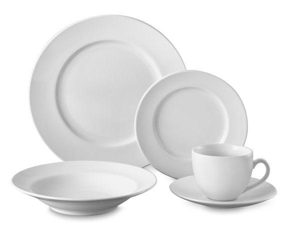 Brasserie All White Dinnerware Sets White Dinnerware Dinnerware