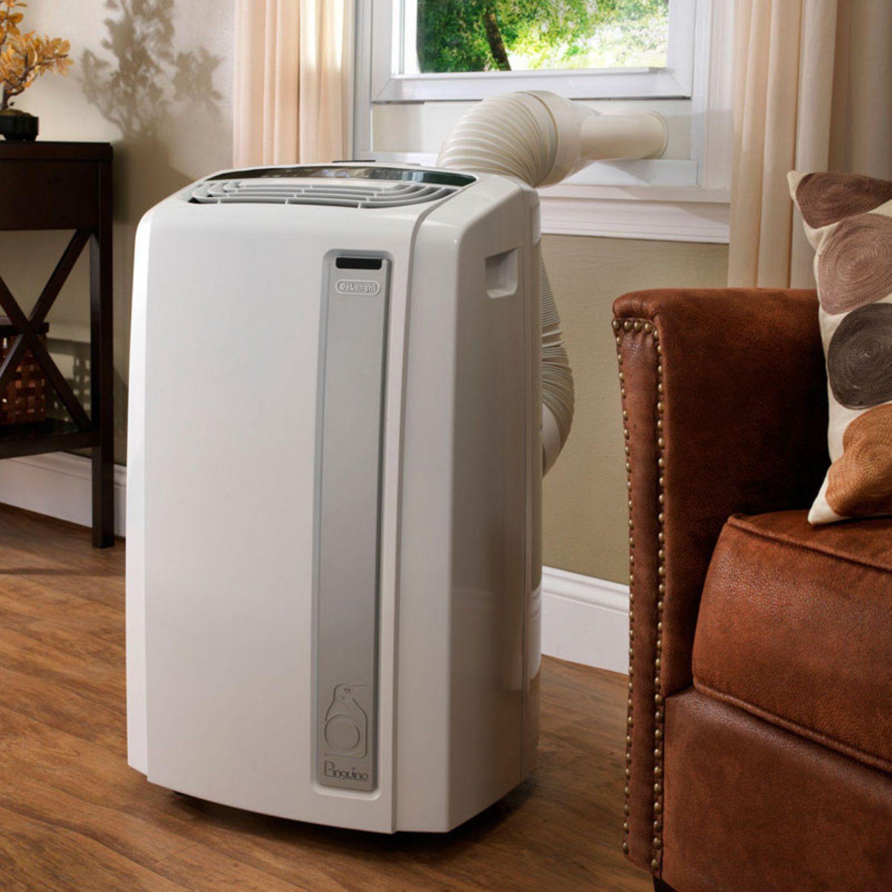 pinguino 12000 btu whisper quiet portable air conditioner with