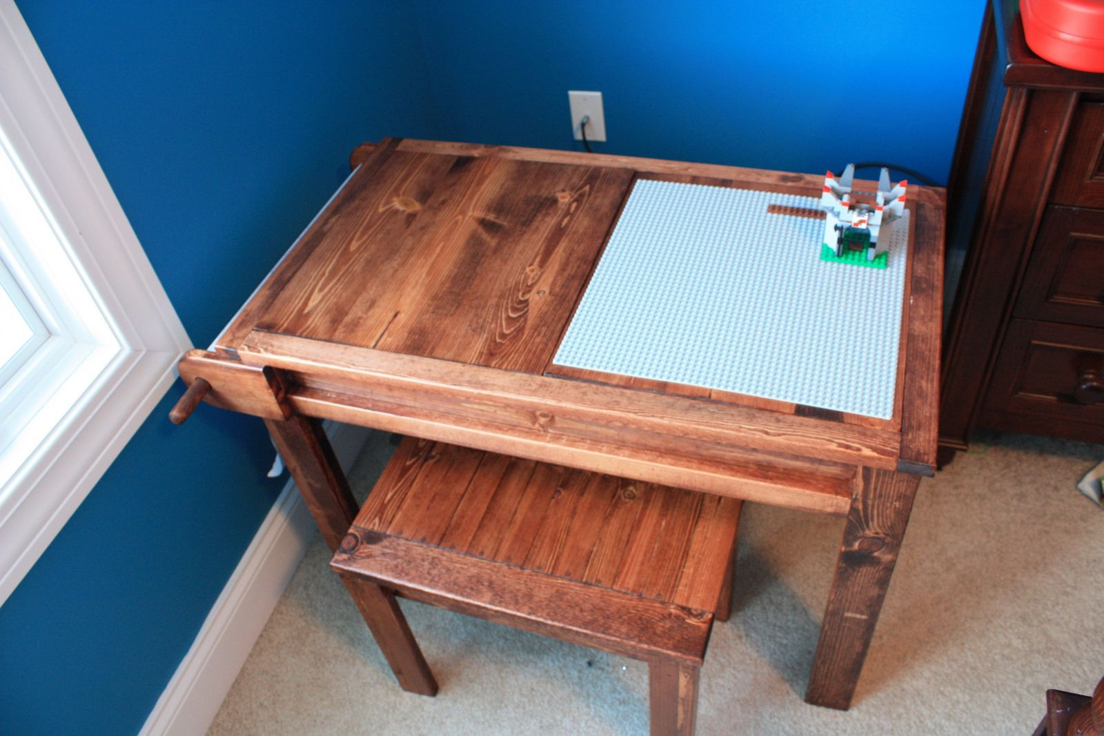 Lego Art Desk. Coolest kid's desk out there. Includes ...