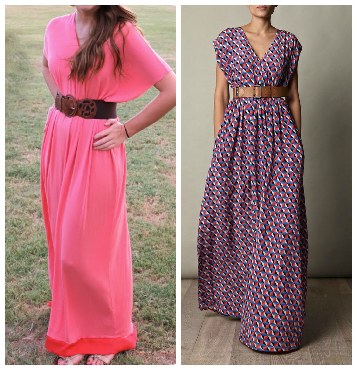 Easy maxi dress pattern free