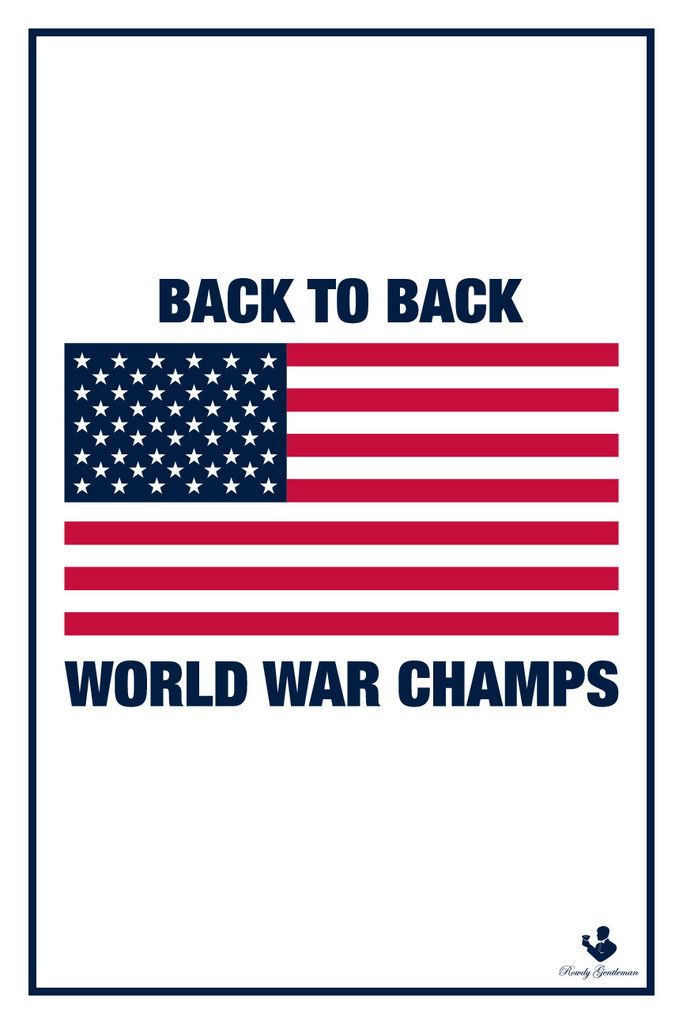 78c936e8b9b0 Back to Back World War Champs - Wall Poster | Other | Poster wall ...