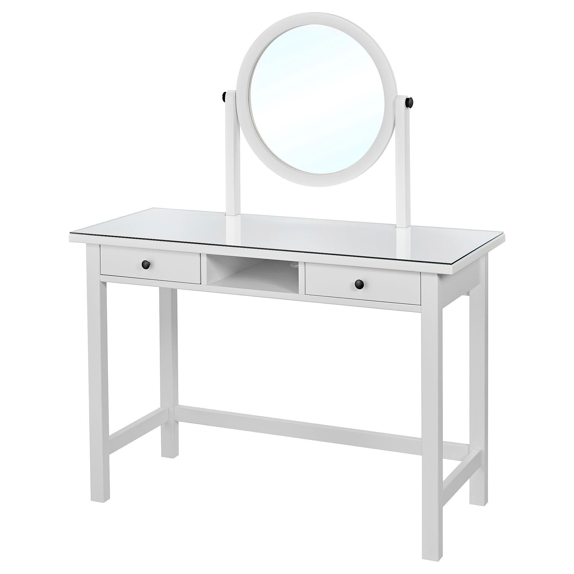 Frisiertisch Ohne Spiegel hemnes frisiertisch mit spiegel weiß schminktisch frisierkommode