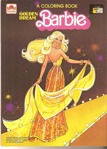 Barbie Coloring Books Were SO GREAT And I Loved The Closeup Face Pages So Could