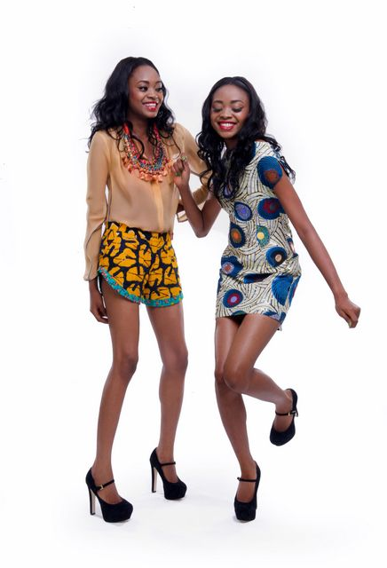 Models Taiwo & Kehinde @ Beth Africa. CIAAFRIQUE ™ | AFRICAN FASHION-BEAUTY-STYLE: June 2011