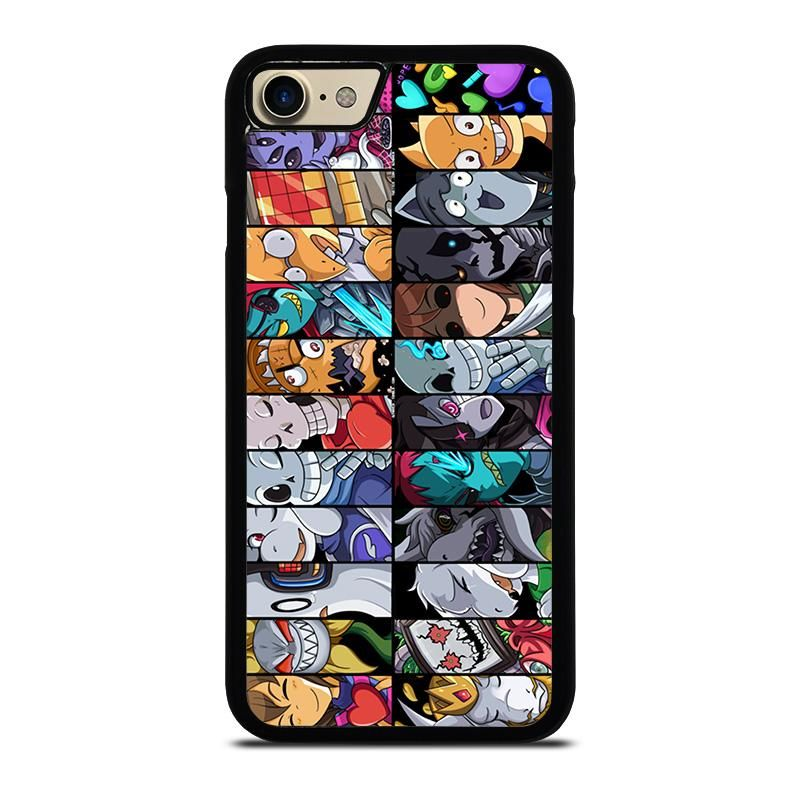 Undertale All Character Iphone 7 Case Cover Iphone 8 Cases Customized Phone Covers Samsung Galaxy Case
