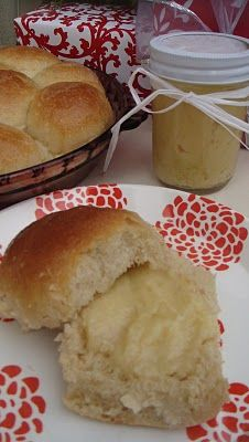 Whipped Honey Butter--great on any warm, homemade bread or rolls.  These 30 minute rolls are quick & easy!