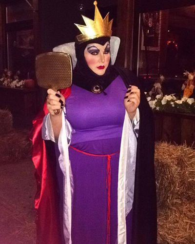 cfc2388b5fbf4 Evil queen Halloween costume for plus size women