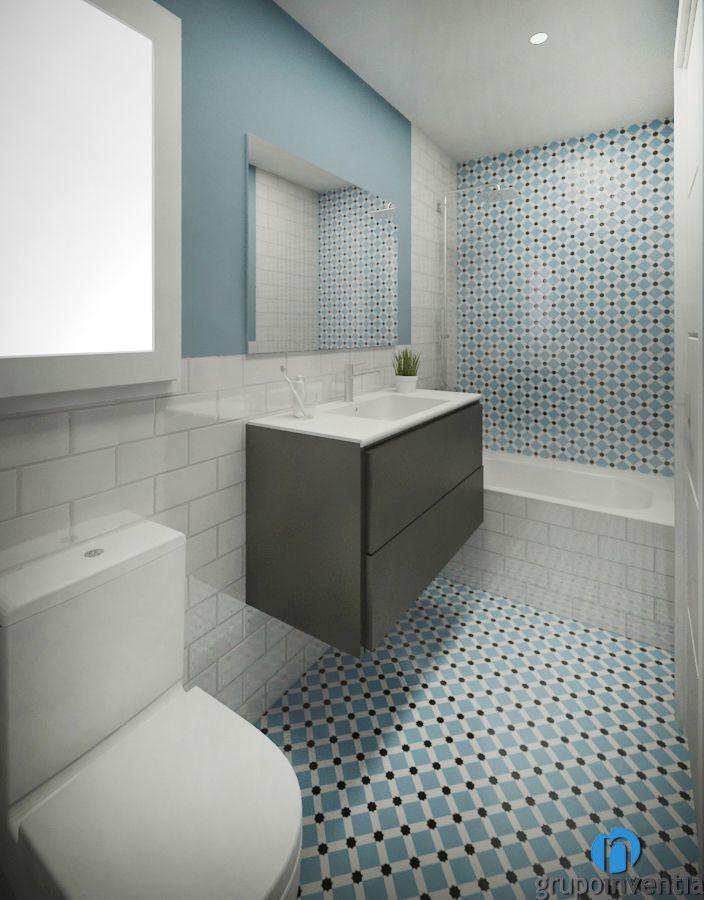 Pin en Proyecto de reforma de cuarto de baño en calle ...