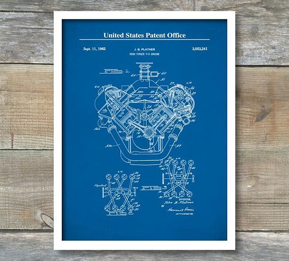 Patent prints auto art chrysler hemi engine internal combustion patent prints auto art chrysler hemi engine internal combustion engine patent wall decor blueprint patent poster car art p450 malvernweather Gallery
