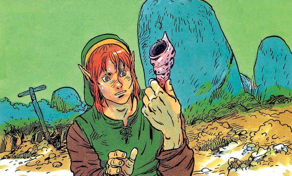 Curiosities: The Legend of Zelda Original Concept Art