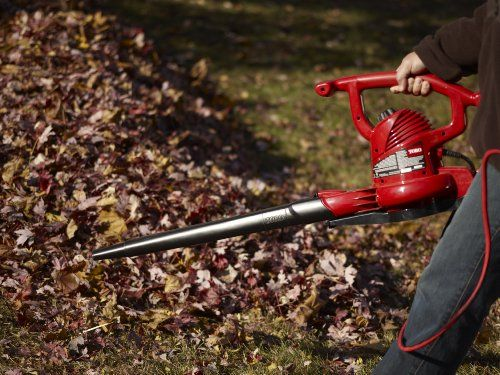 Toro 51609 Ultra 12 Amp Variable Speed Up To 235 Electric Blower Vacuum With Metal Impeller Leaf Blower Leaf Blowers Blowers