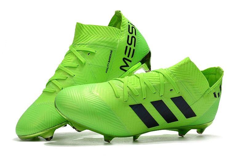 wholesale dealer fd0de c7e5e adidas Nemeziz Messi 18.1 FG Copa Mundial 2018 - Verde Negro