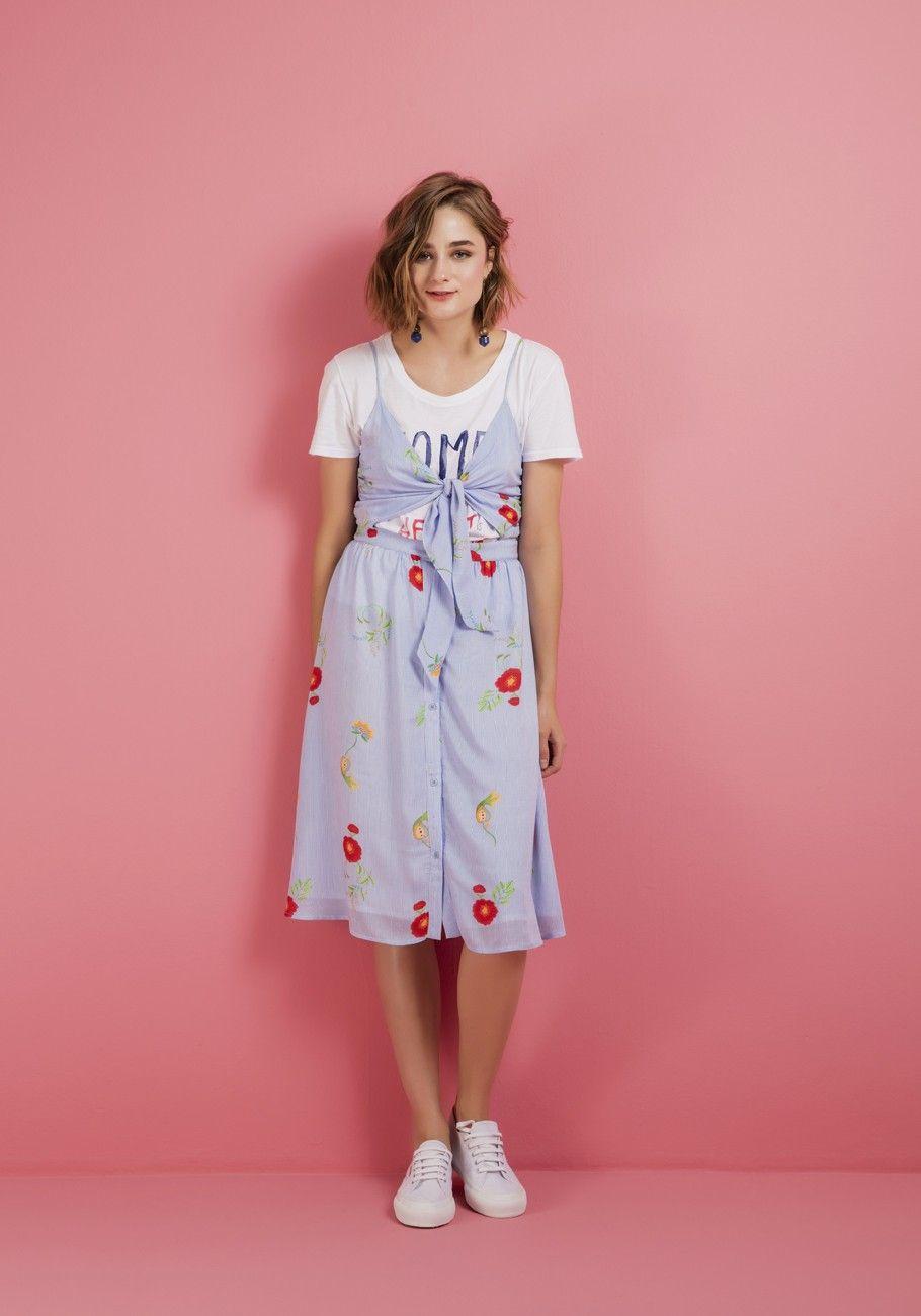 Vestido viscose amarração frente vestidosss pinterest
