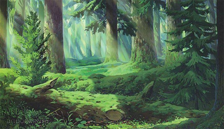Ronja The Robber S Daughter C Studio Ghibli Blog Website Www Ghibli Jp Character Design Referen Anime Scenery Anime Background Art Background