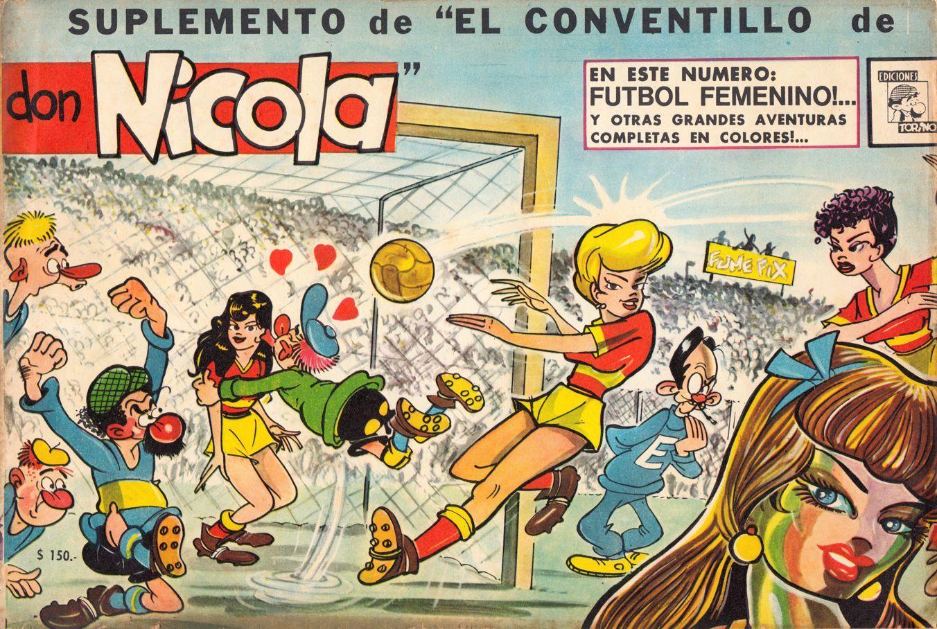 MUNDO QUINTERNO: SUPLEMENTO DE EL CONVENTILLO DE DON NICOLA Nº 03