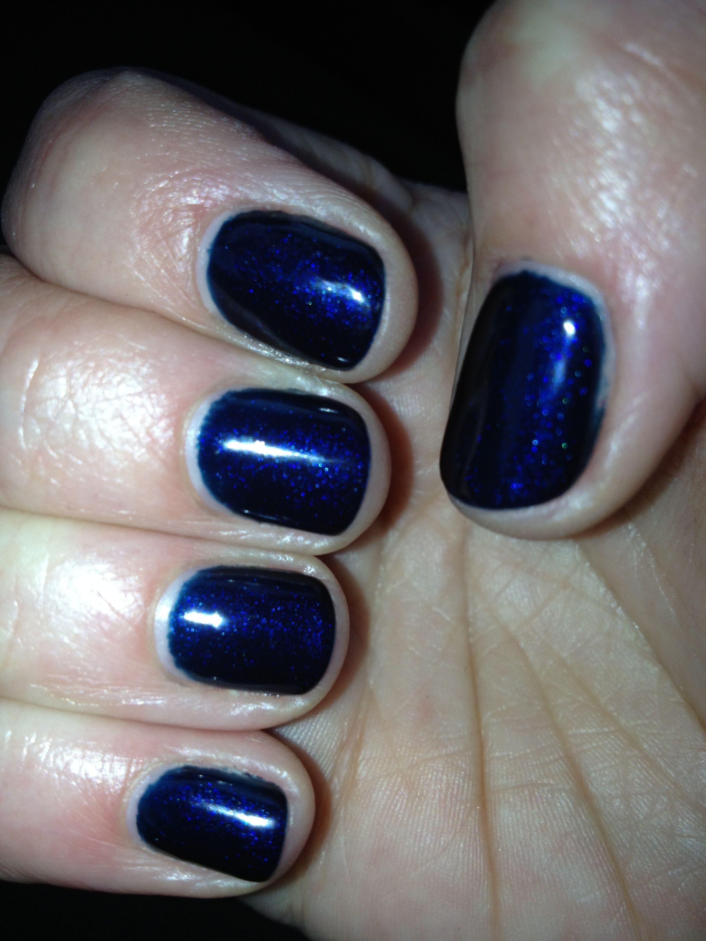 Sensationail Color Gel Polish Blue Yonder by nailene #19