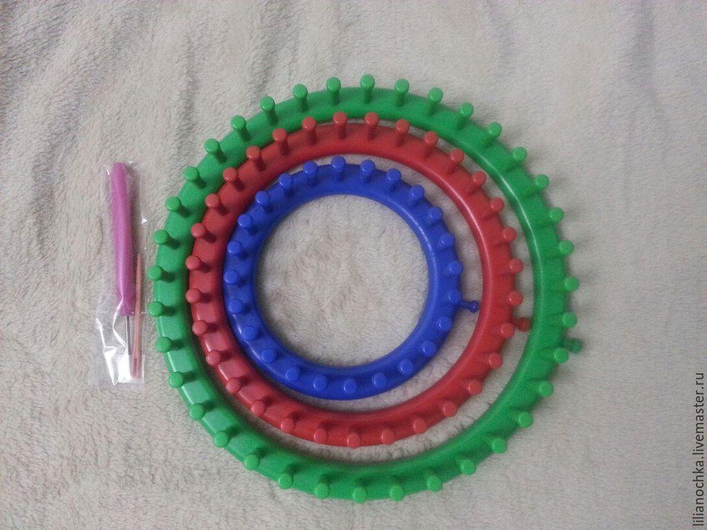 купить устройство для вязания Knitting Loom 3 станка