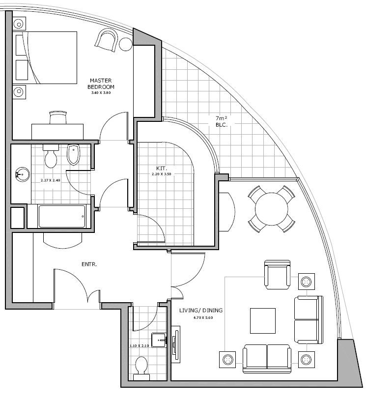 Floor Plan Thoughts Curved Walls