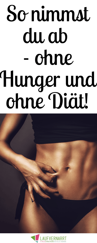 Photo of Abnehmen ohne Hunger – so geht's – Laufvernarrt