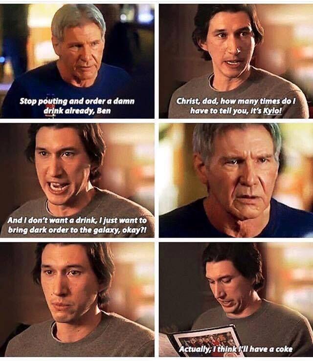 Pin By Jasmine Martinez On Lols Star Wars Memes Han And Leia Star Wars Humor