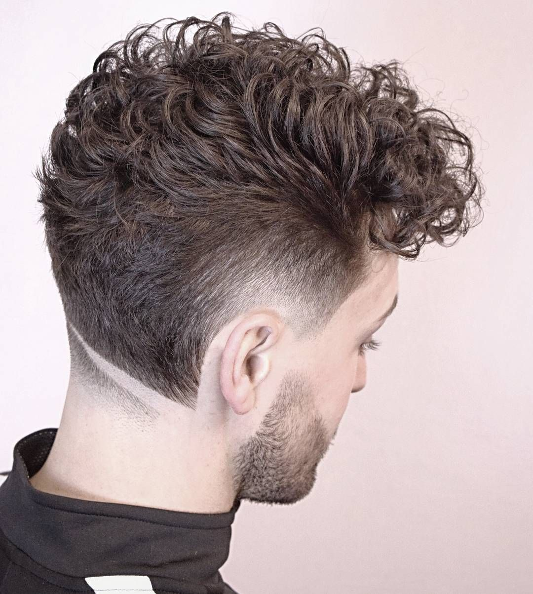 new hairstyles for men: neckline hair design | new hairstyles for