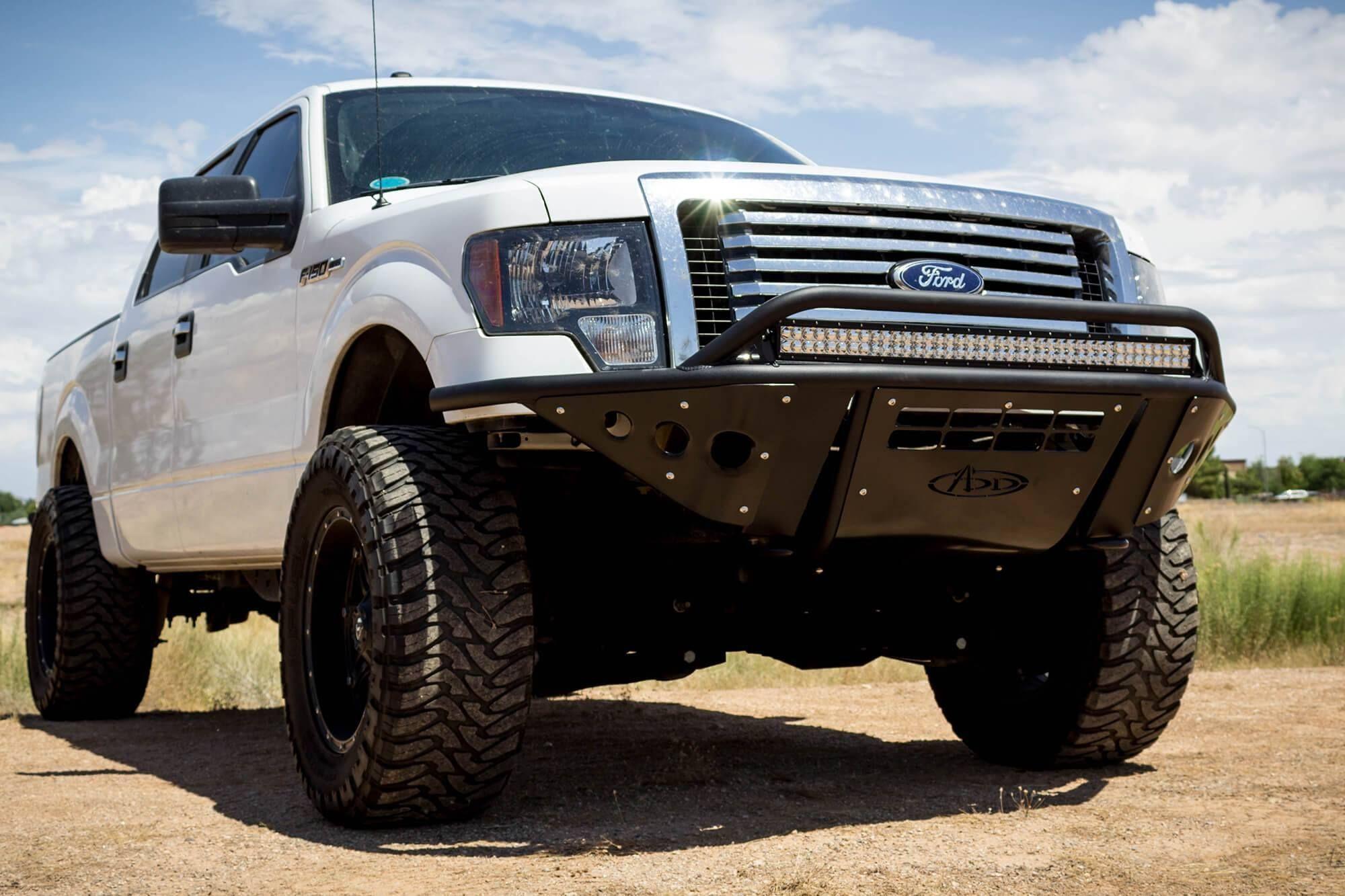 2009 2014 F 150 Stealth Front Bumper Non Winch Version Custom Trucks Ford Trucks Trucks