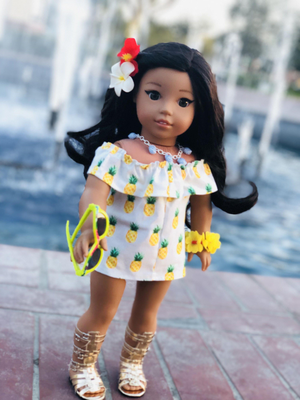 Nanea Mitchell Lea Clark Inspired Tropical Pineapple Off