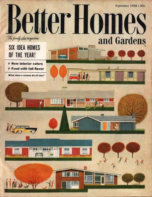 Better Homes And Gardens, 1958 | Gardens, Mid-Century Modern And Home