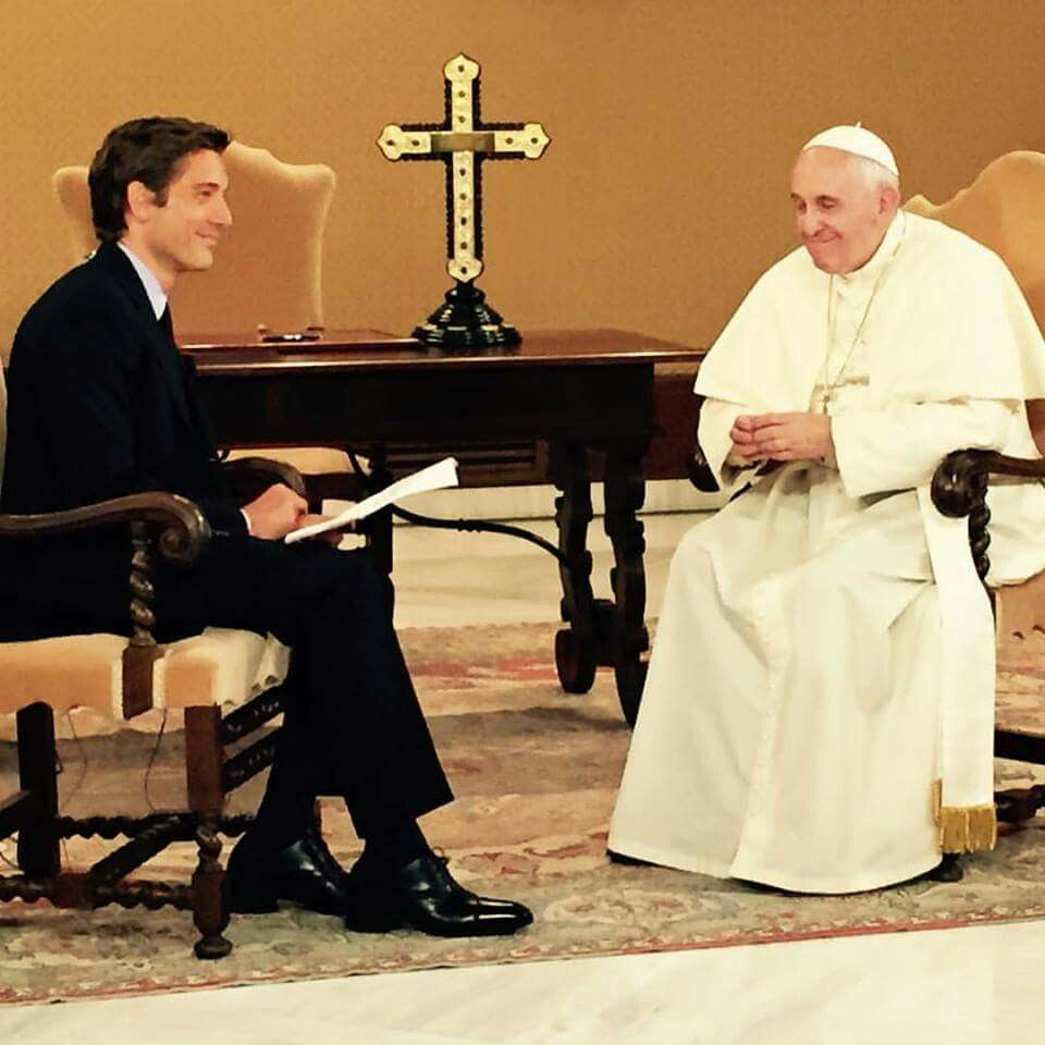 A ture Honer. Our visit with Pope Francis on the eve of his historic visit to the United Sates.