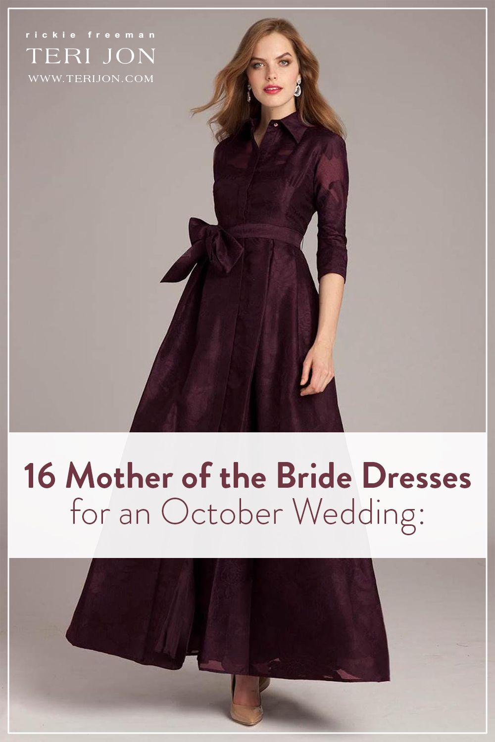 16 Mother Of The Bride Dresses For An October Wedding Mother Of The Bride Dresses Mother Of Bride Outfits Mother Of The Bride Dresses Long